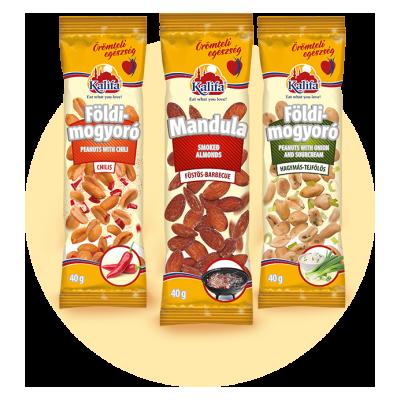 Snack termékek